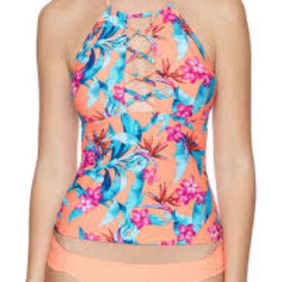 7c7d118b0fb1d Arizona Jean Company Swim | Arizona Floral Tankini Suit Top Juniors ...